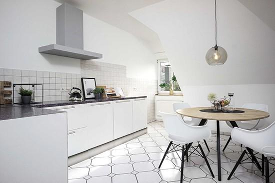 Home Staging 360 met een kartonnen keuken basic uitvoering van cubiqz