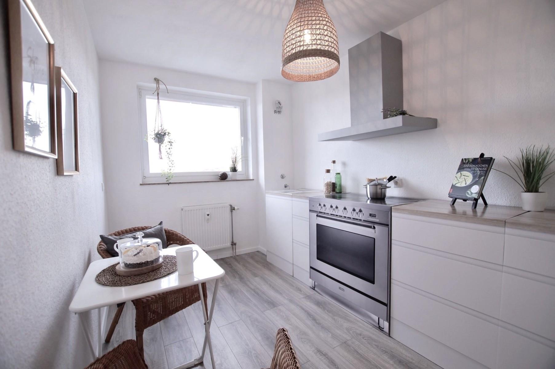 Pudda Homestaging met een kartonnen keuken basic uitvoering van cubiqz