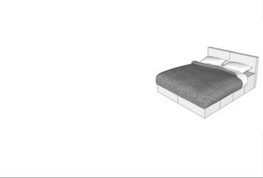 CUBIQZ kartonnen slaapkamer meubelen