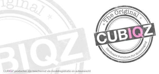 cubiqz producten zijn beschermd via modelregistratie en auteursrecht