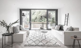 LOOKBOOK CUBIQZ kartonnen meubels voor woonkamer